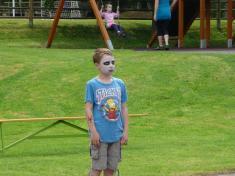 Dětský den veSkrchově 2016malování naobličej