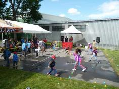 Dětský den veSkrchově 2015hra smíčky
