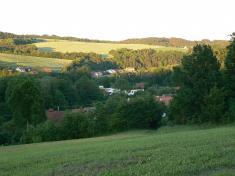 Pohled naBorovou zDoubku 2007