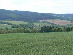 Pohled naobec odvýchodu 2007