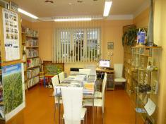 Obecní knihovna interiér 2020