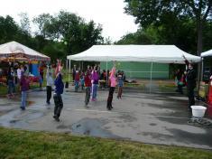 Dětský den veSkrchově 2015cvičení