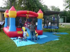 Dětský den 2012skákací hrad
