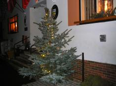 Soutěž Vánoční strom 2011vánoční stromeček uvchodu naúřad