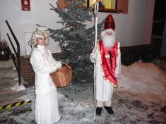 Mikulášská nadílka 2010rozsvícení vánočního stromečku