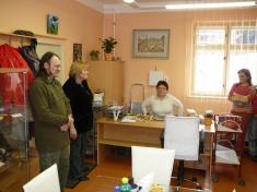 Otevření obecní knihovny 2010slavnostní projev