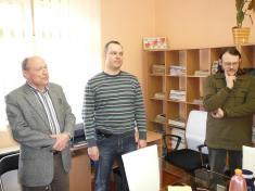 Otevření obecní knihovny 2010návštěva zpodniku Teluria