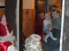 Mikulášská nadílka 2009návštěva unejmladšího občánka Skrchova