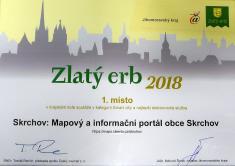 Soutěž Zlatý erb 20181.místo vJMK